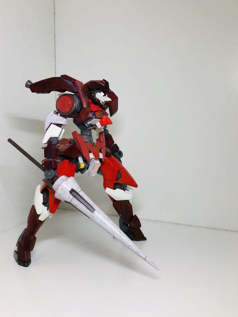 レギンレイズ-X(カイ) 制作工程3