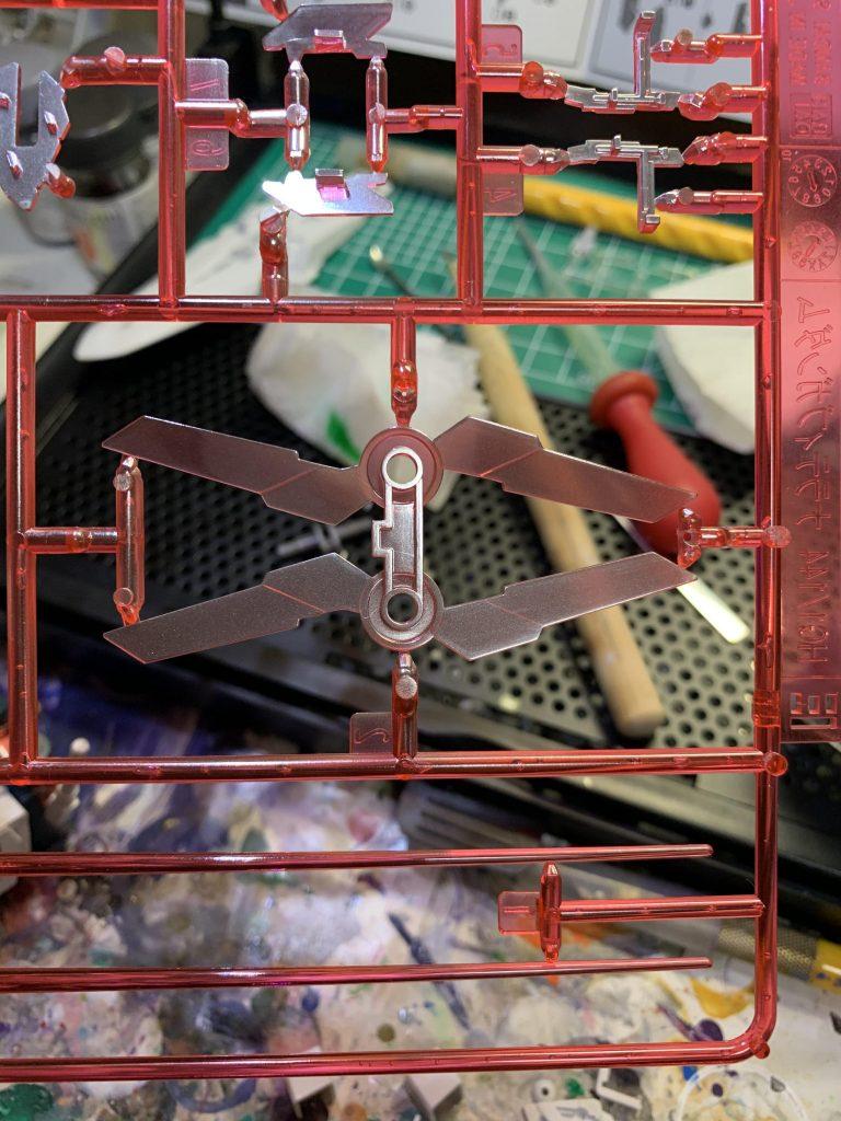 HG ナラティブガンダム C装備 制作工程2