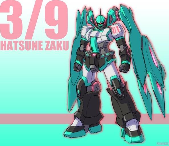 HATSUNE-ZAKU アピールショット6