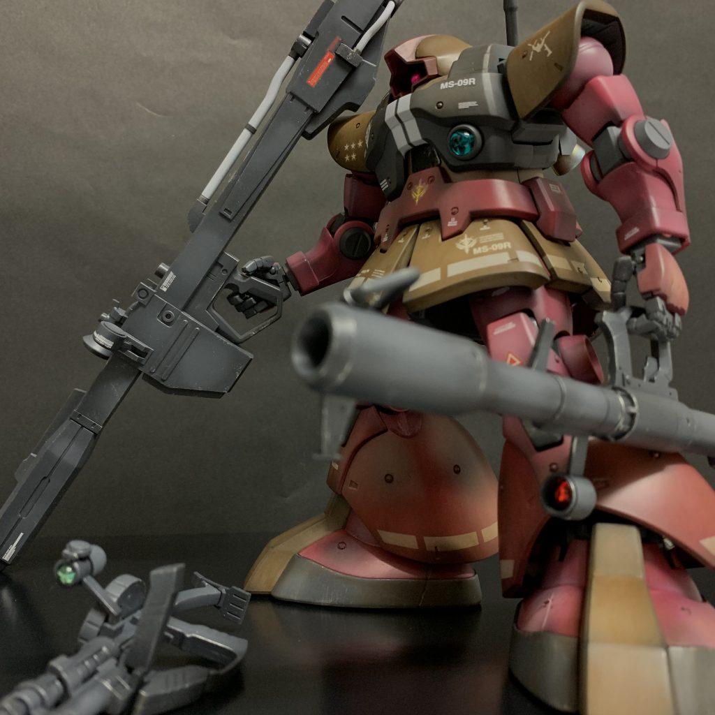 MG リックドム アピールショット2