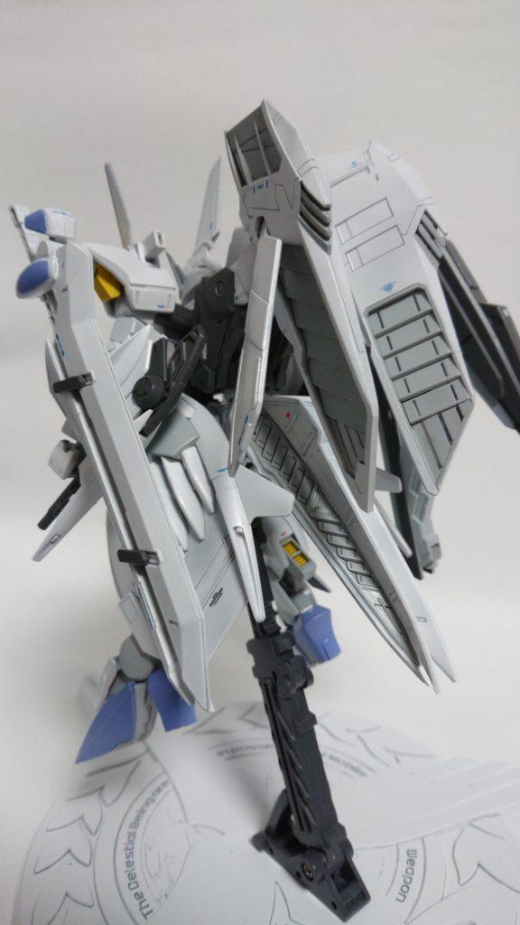 GNW-004 ガンダムスローネ4(フィーア) アピールショット3