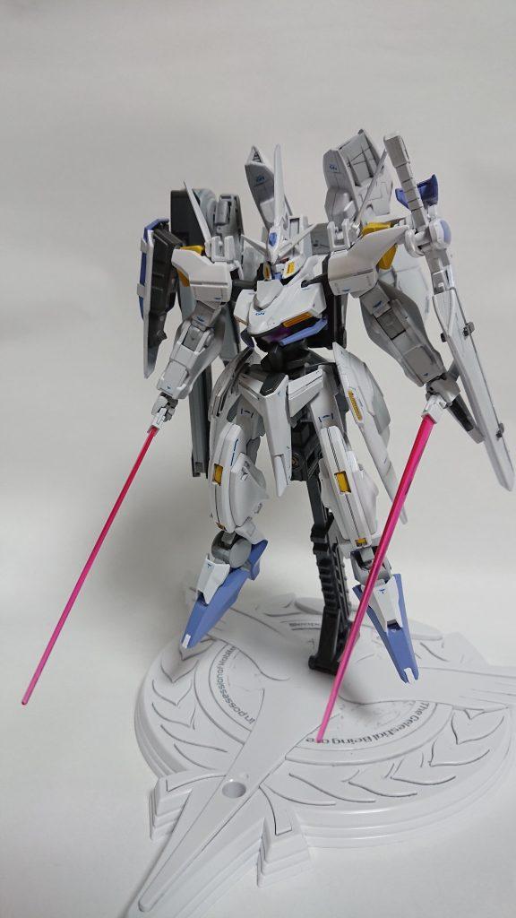 GNW-004 ガンダムスローネ4(フィーア) 制作工程3