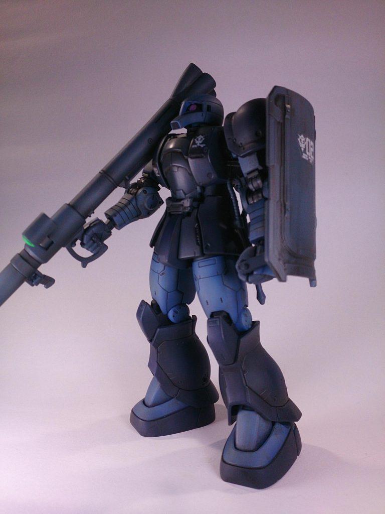 MS-06 ZAKU [黒い三連星] アピールショット4