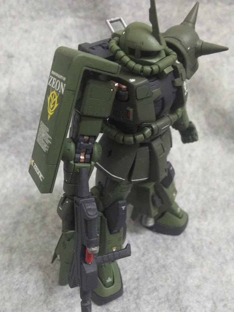 RGザク改造MS-06R-2P アピールショット3