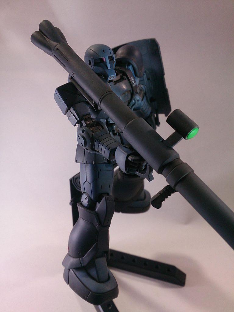 MS-06 ZAKU [黒い三連星] アピールショット1