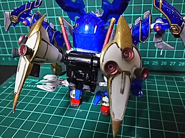 烈龍頑駄無(GP01Fb Ver.) 制作工程1