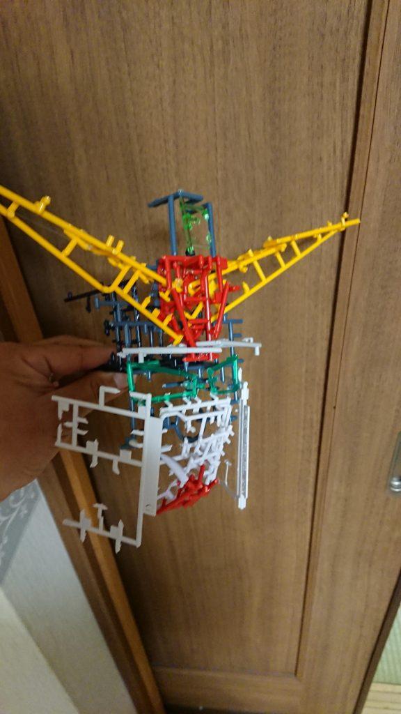 ガンダムMk-2ランナー 制作工程1