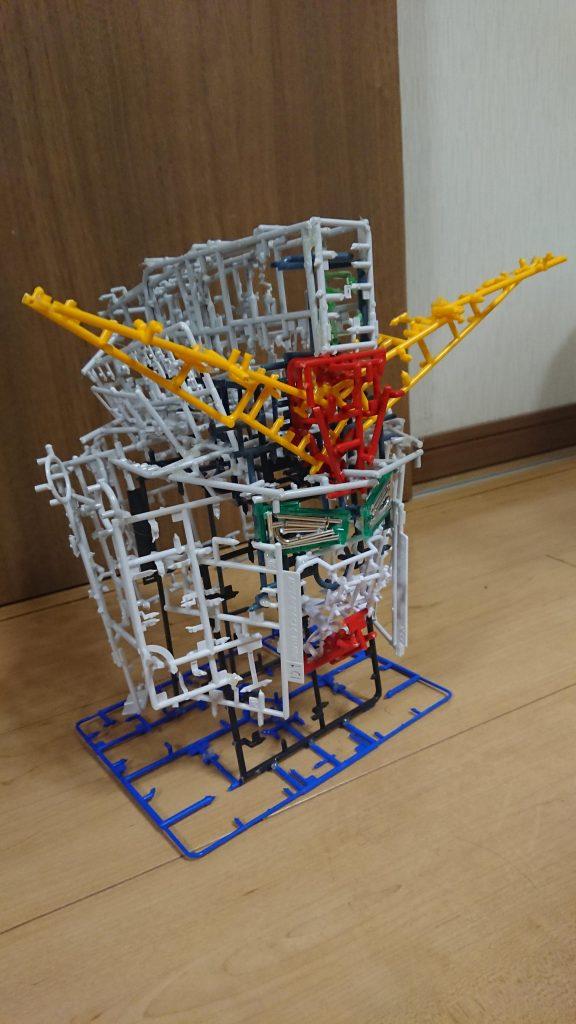 ガンダムMk-2ランナー 制作工程3