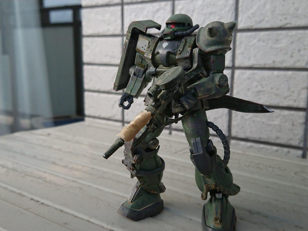 ザクⅡ(現地改修型) アピールショット2