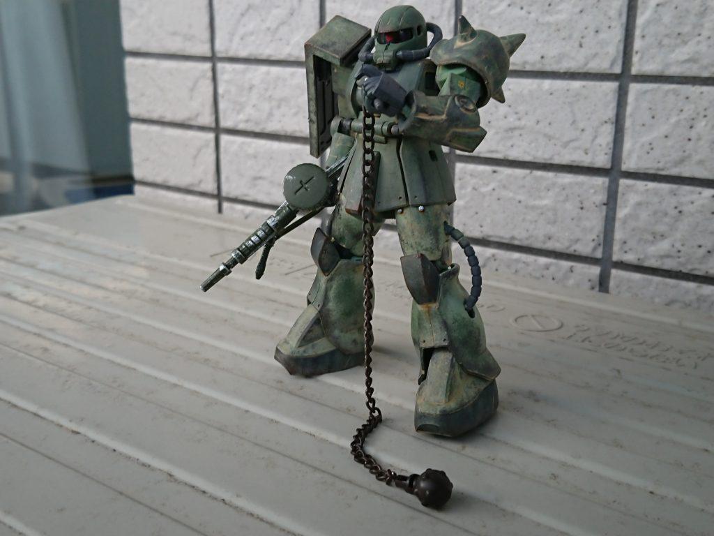 ザクⅡ(現地改修型) 制作工程3