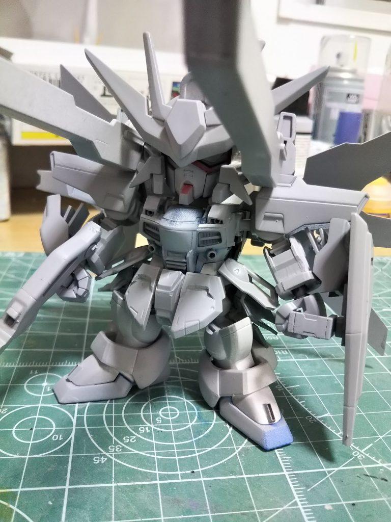 SD ガンダムDX 制作工程2