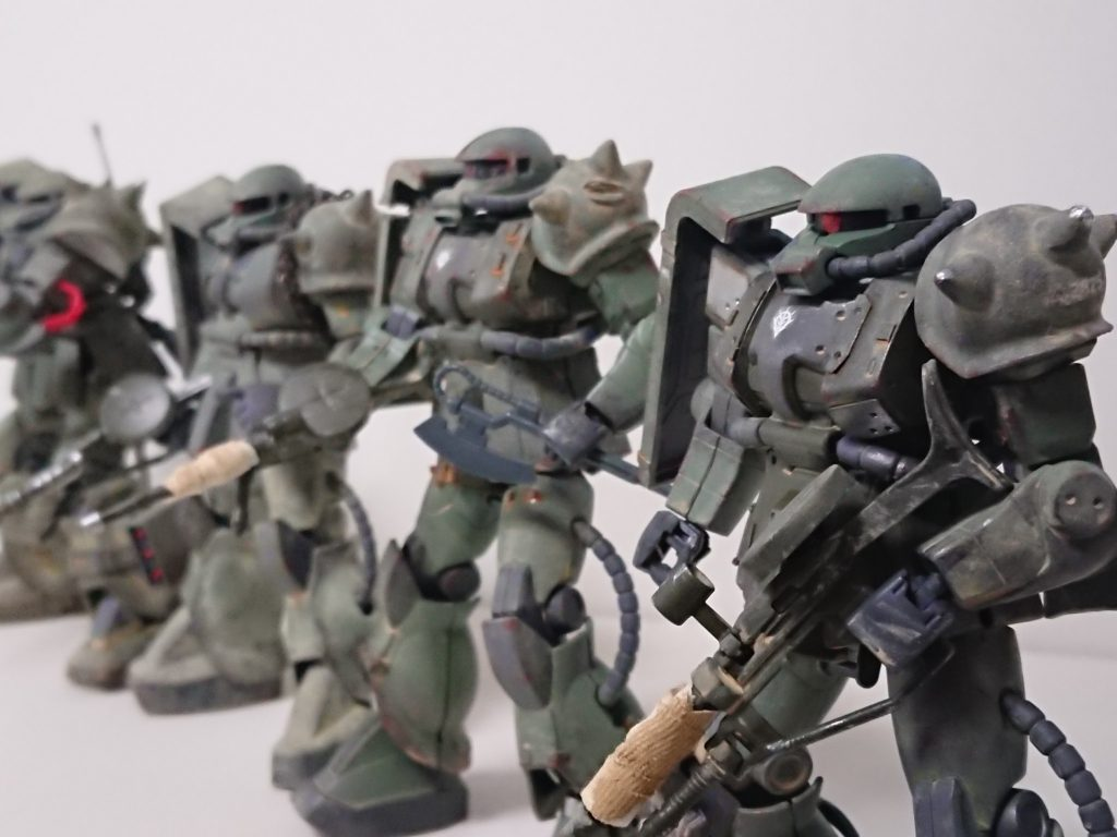 ザクⅡ(現地改修型)