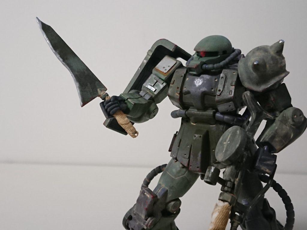 ザクⅡ(現地改修型) アピールショット3