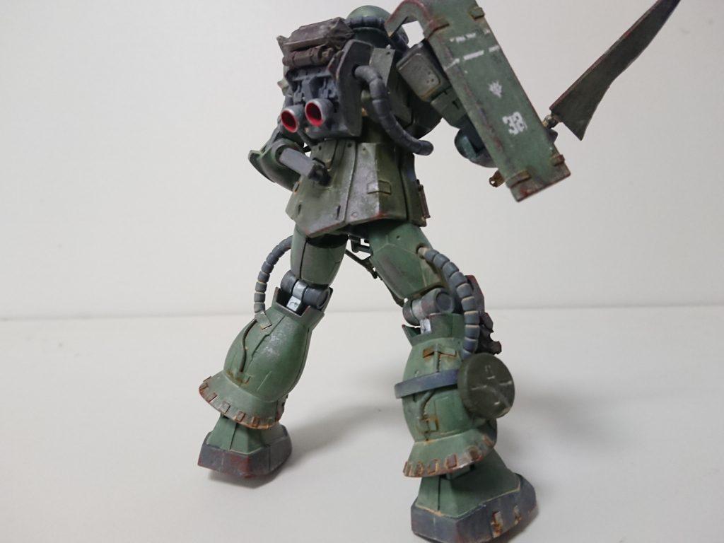 ザクⅡ(現地改修型) アピールショット4