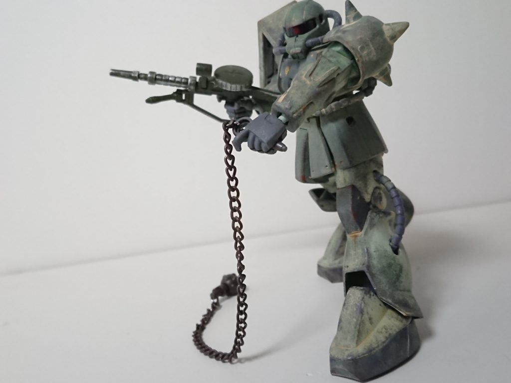 ザクⅡ(現地改修型) 制作工程6
