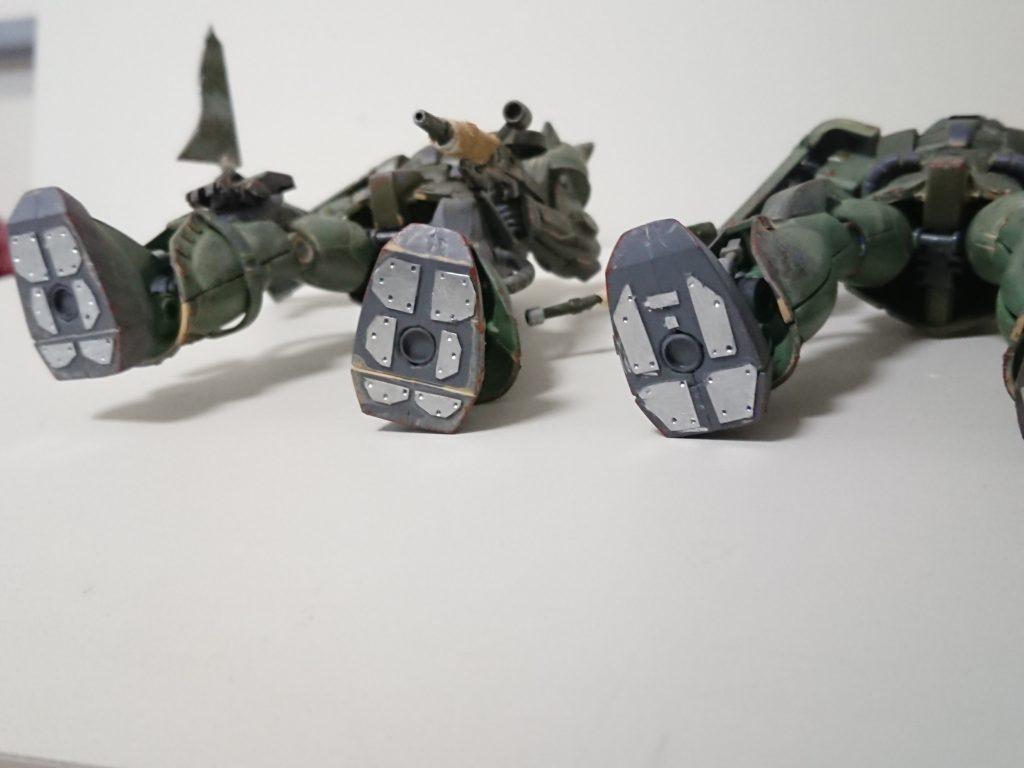 ザクⅡ(現地改修型) 制作工程2