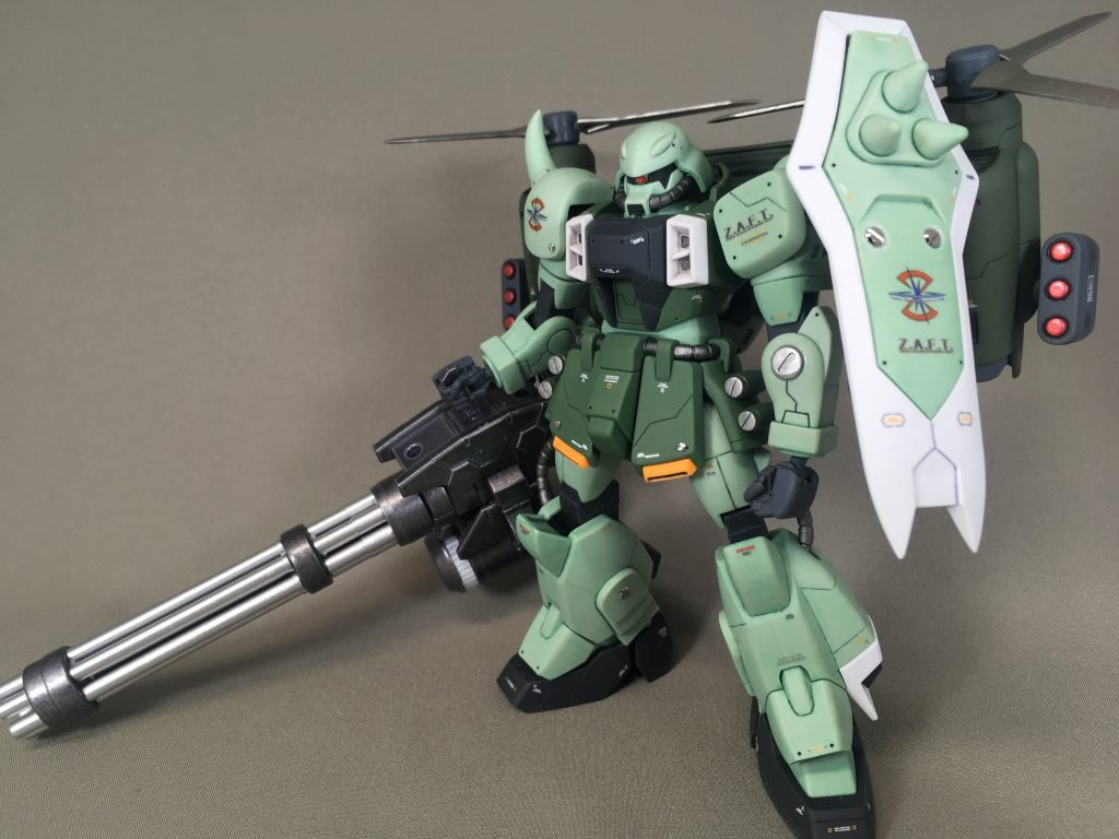 ZAKU WARRIOR – Gatling Tempest アピールショット1