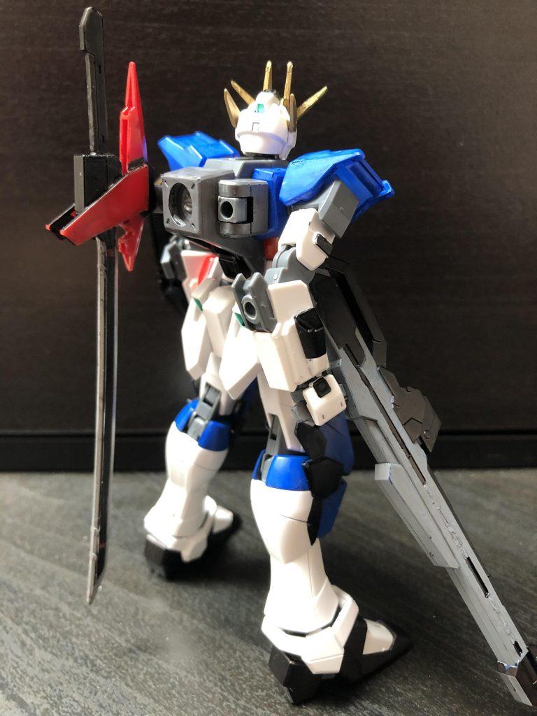 幻のストライクガンダム改修プラン アピールショット1