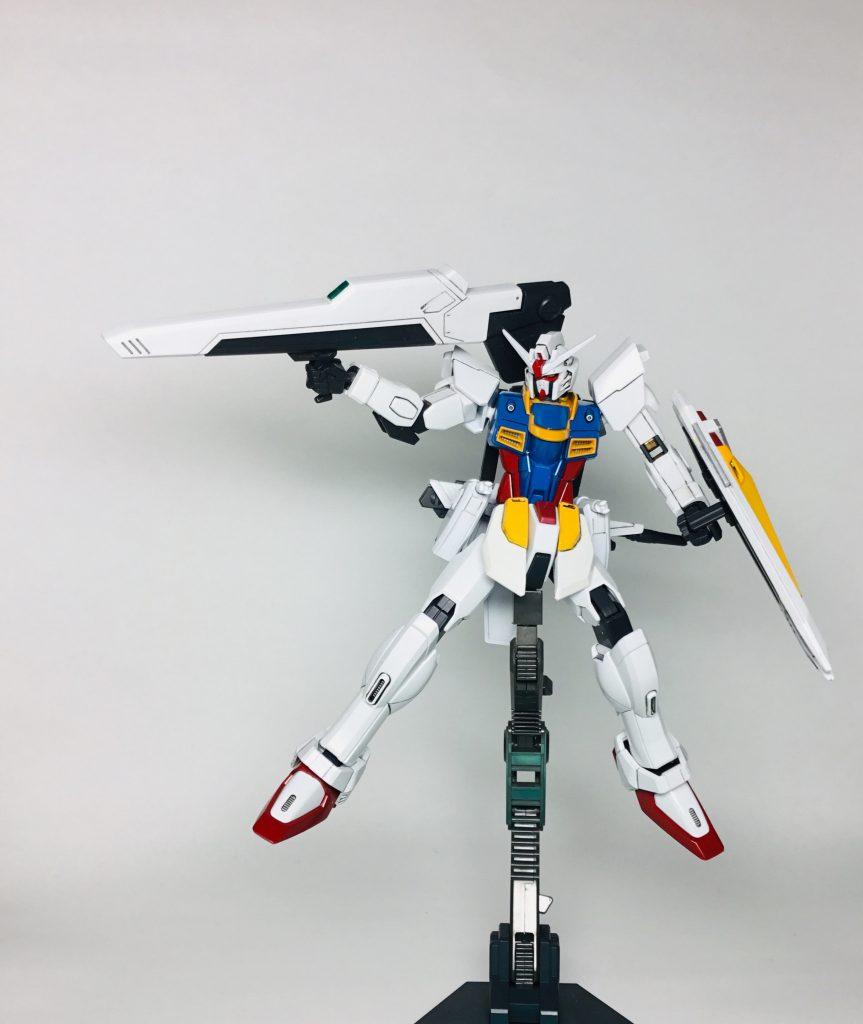 フリーダムガンダム ver.RX-78〔ゼロ〕 制作工程3