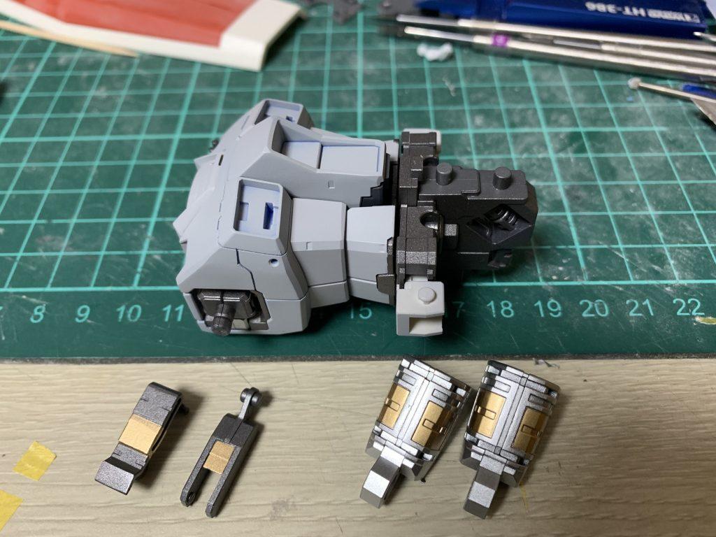 オリジン版RX-78-3 ガンダム 制作工程1