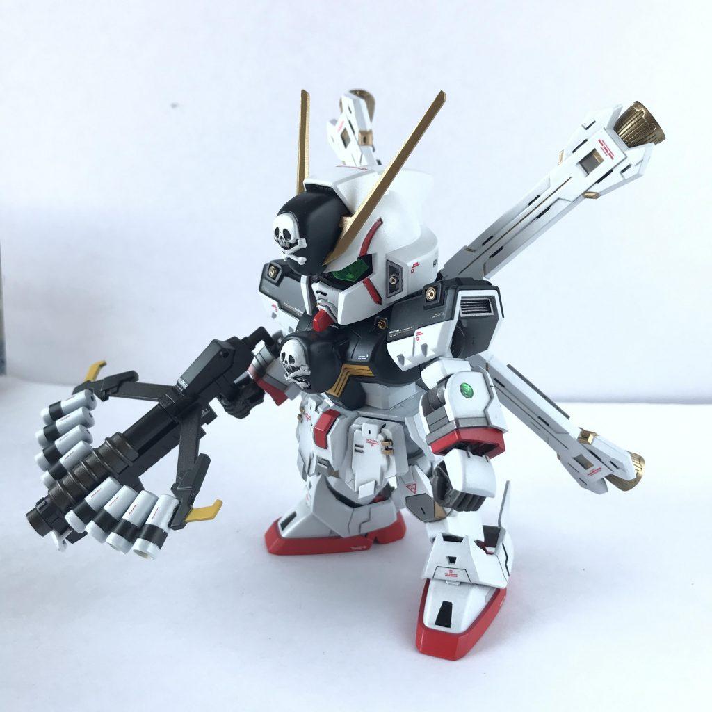 SDCS クロスボーンガンダムX1改・改 スカルハート アピールショット4