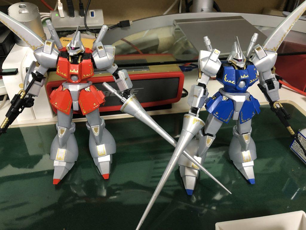 HG 1/144 ガズ R/L 制作工程8