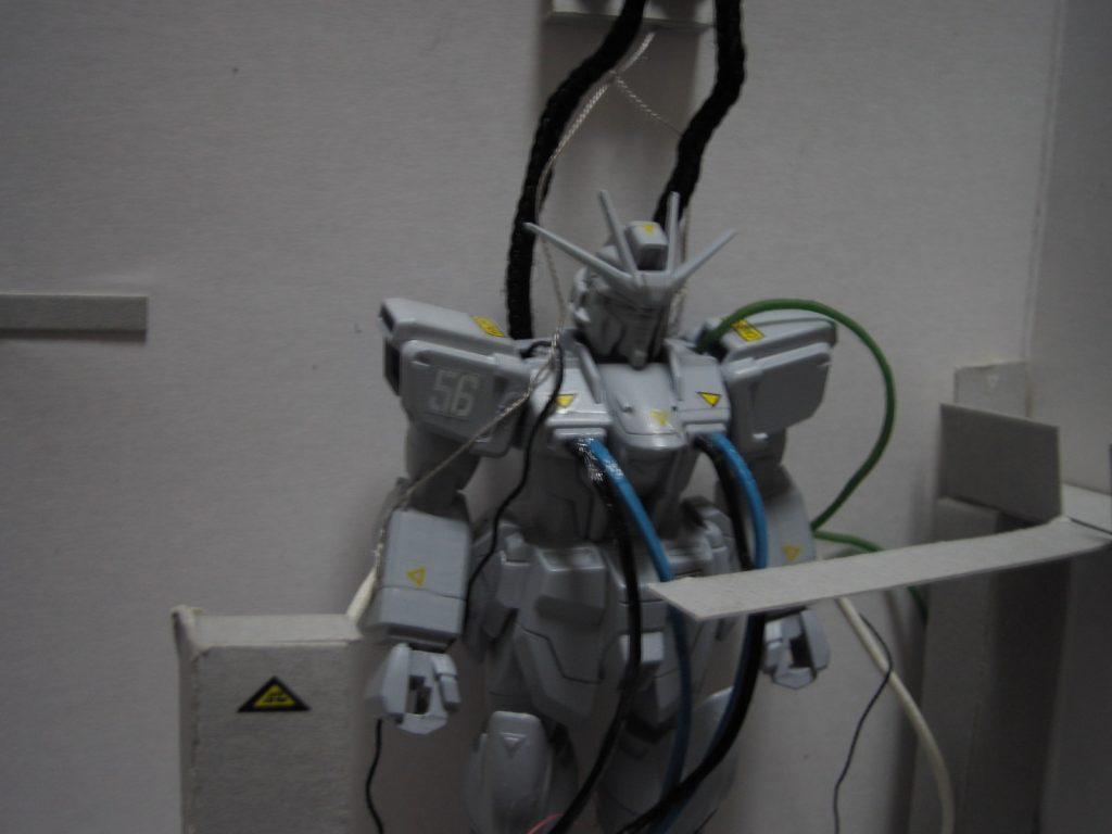 インパルスガンダム 整備待機 アピールショット1