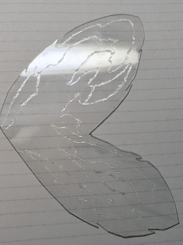 真・流星胡蝶剣 制作工程8