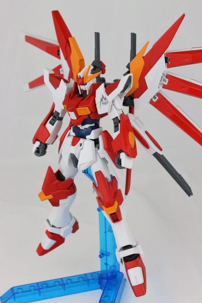 Flame Gundam アピールショット1