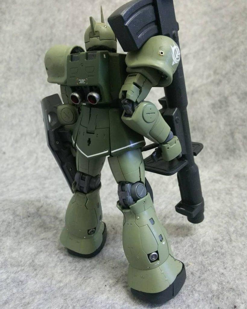 RGザク改造MS-05ゲラート・シュマイザー専用機 アピールショット3