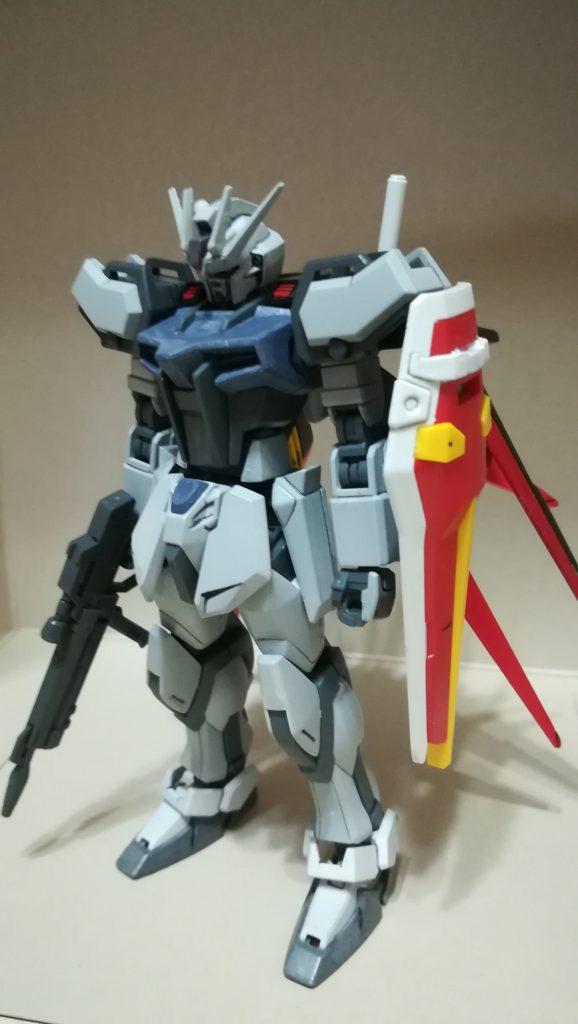 GAT-X105+AQM-X/E-01エールストライク(ディアクティブモード風)