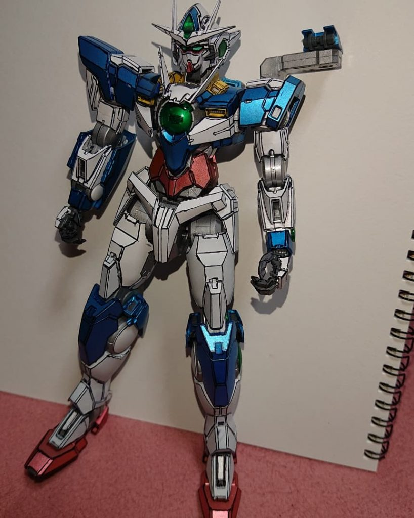 MGダブルオークアンタ アピールショット2