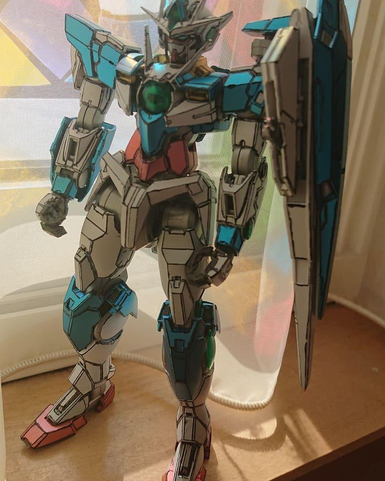 MGダブルオークアンタ アピールショット5