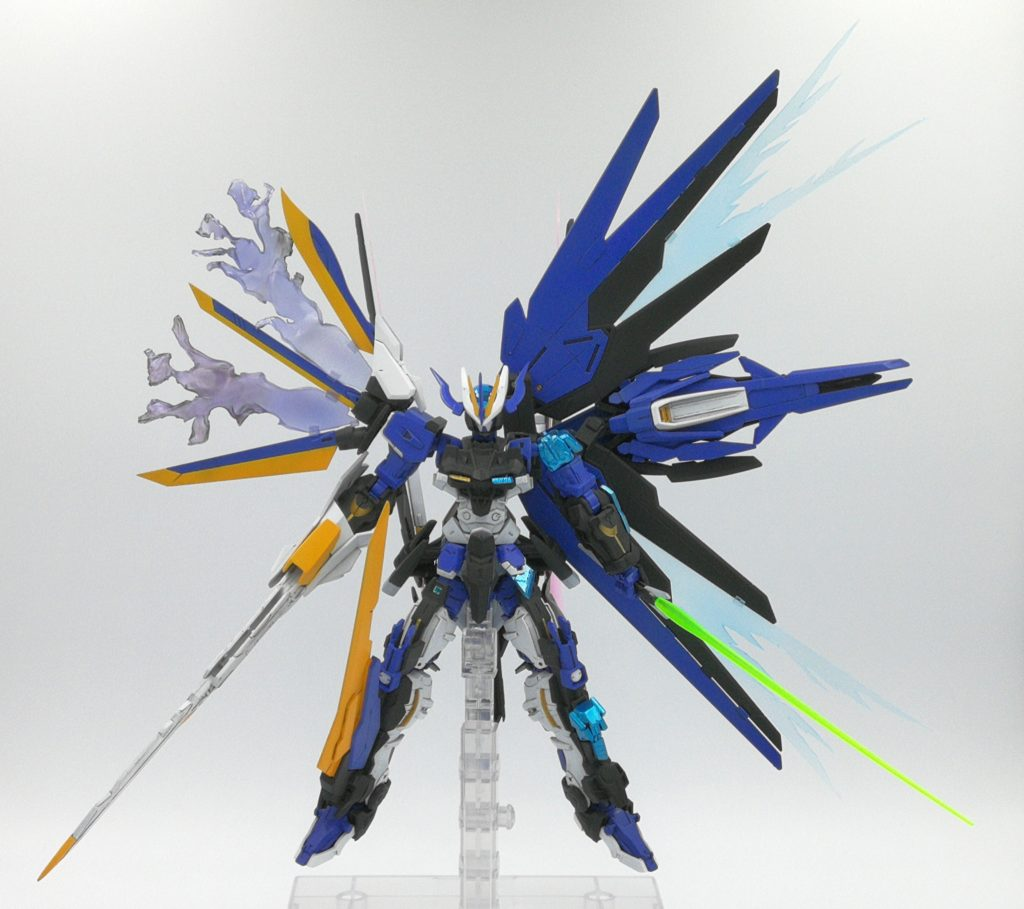 ガンダムアストレイ ネイキッドネーム 制作工程8