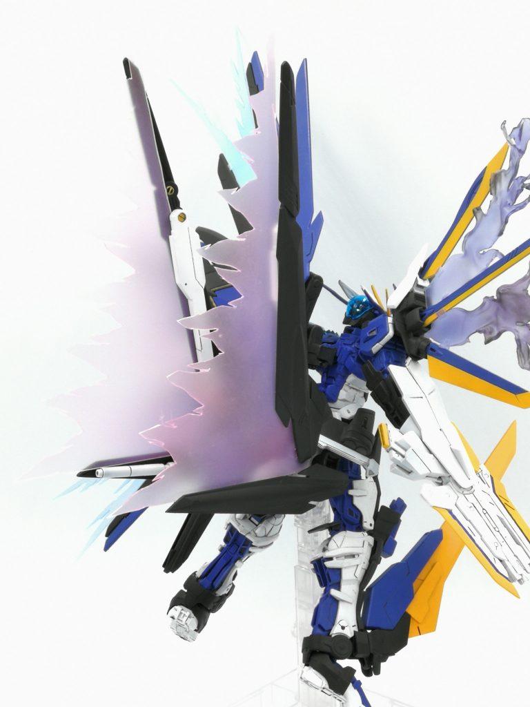 ガンダムアストレイ ネイキッドネーム 制作工程6