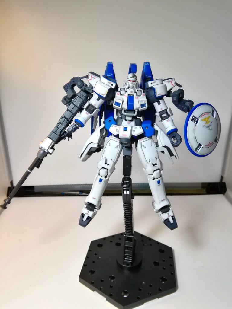 RG トールギス(トールギスⅢ風カラー) アピールショット2