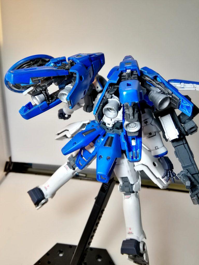 RG トールギス(トールギスⅢ風カラー) アピールショット4