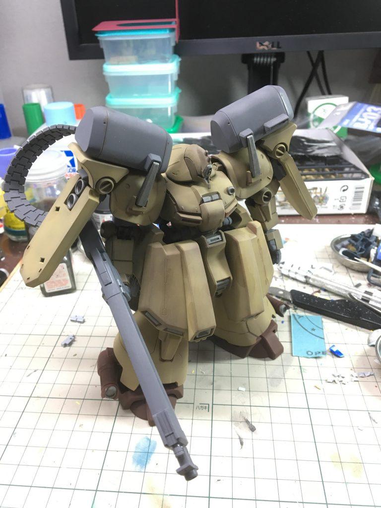 HGUC ゼクアイン 陸戦型 制作工程6