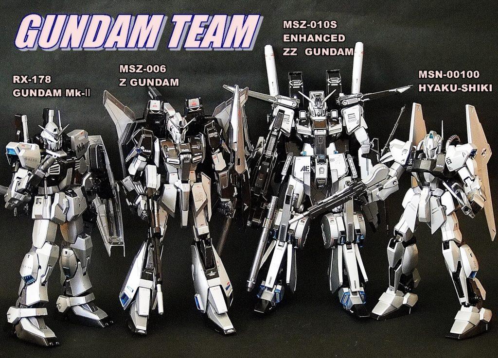 ガンダムチーム アピールショット6