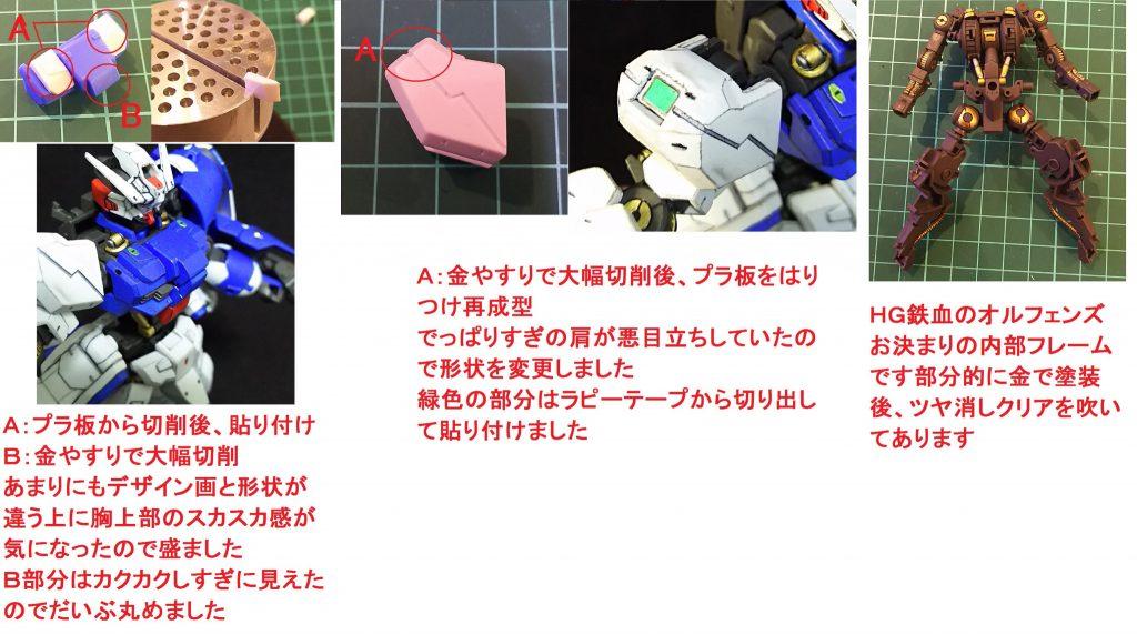 HG ガンダム・アスタロト アピールショット7