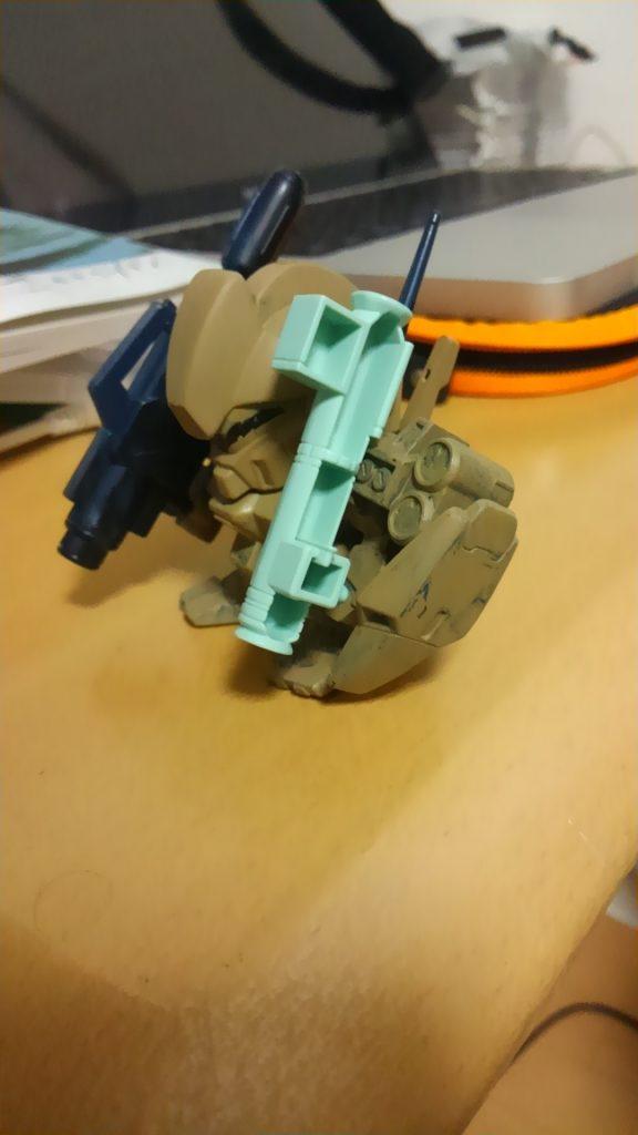SDジェガン(武装強化型) 制作工程2
