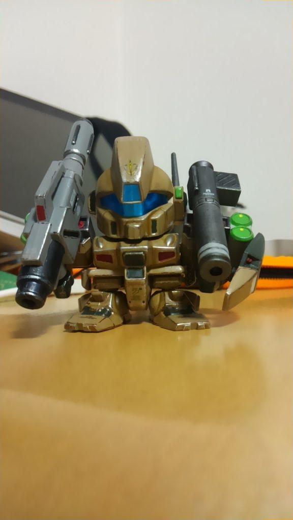 SDジェガン(武装強化型) アピールショット1
