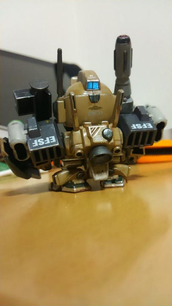 SDジェガン(武装強化型) アピールショット3