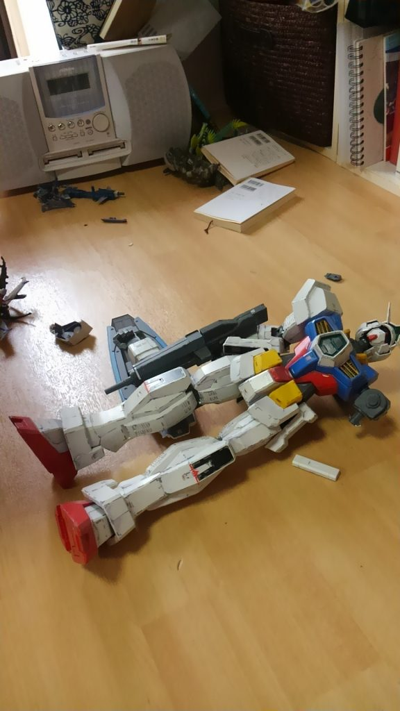 メガサイズAGE-1 夜間強襲型 制作工程4