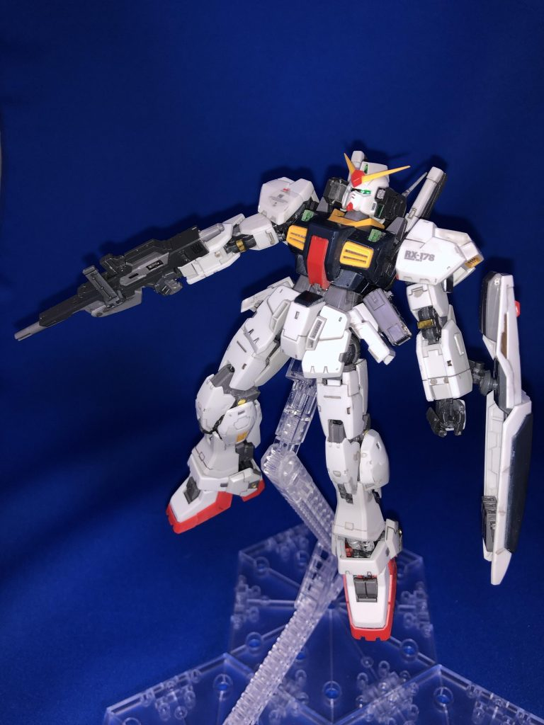 RG 1/144 RX-178 ガンダムMk-II (エゥーゴ仕様) アピールショット4