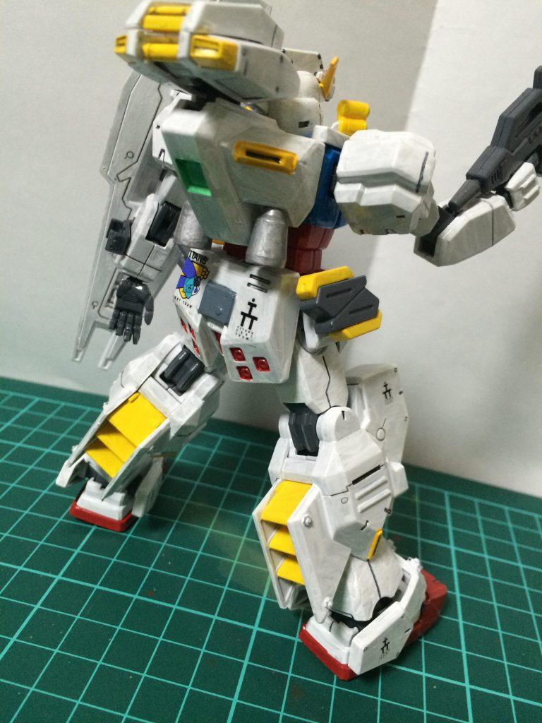 HGガンダムTR-1ヘイズル改 アピールショット1