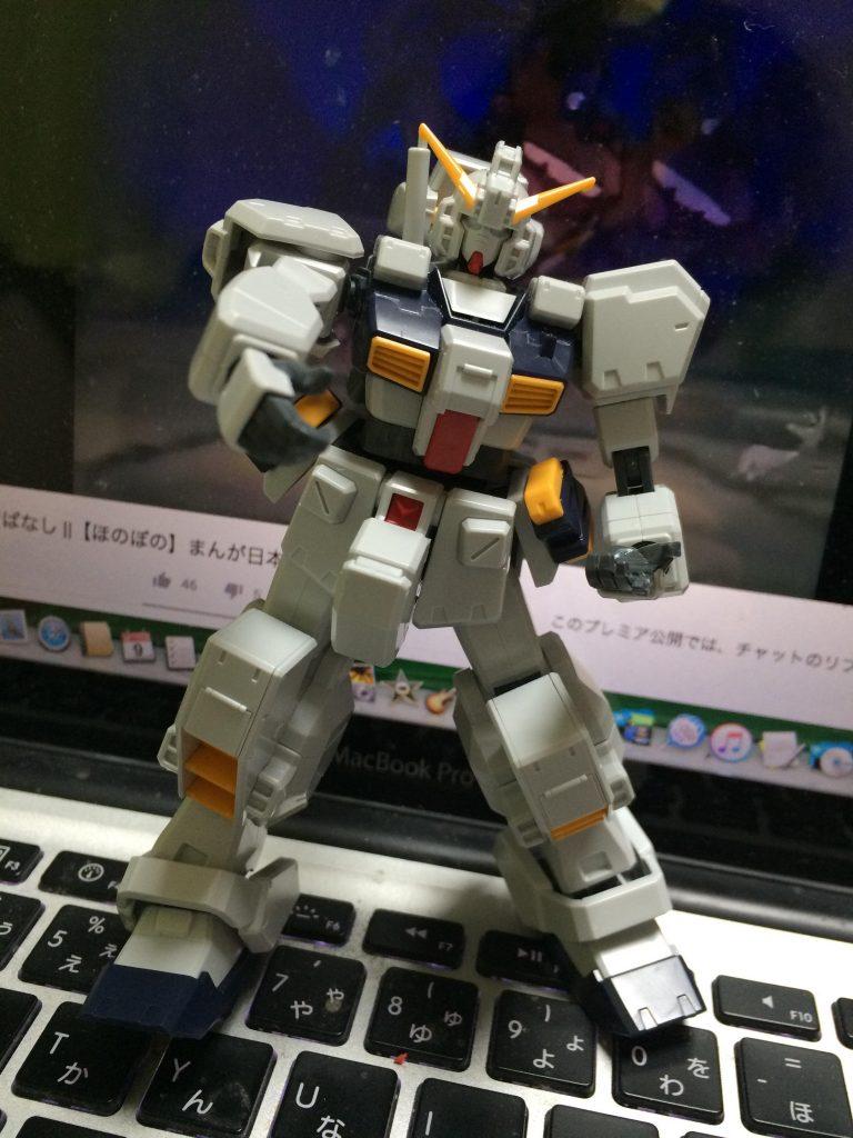 HGガンダムTR-1ヘイズル改 アピールショット3