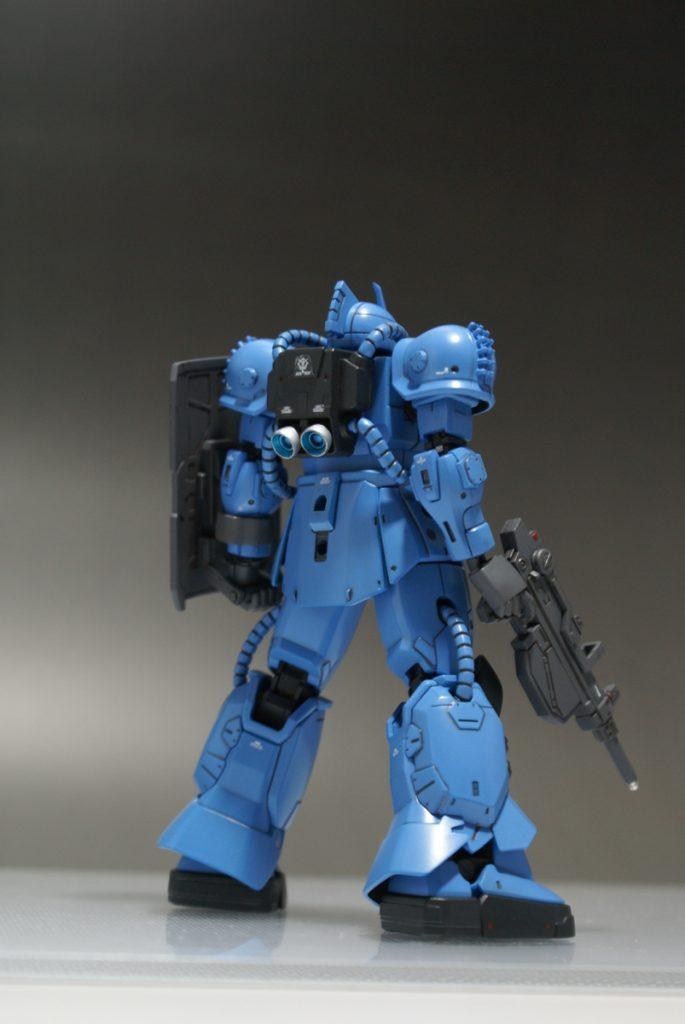 "HG ORIGIN MS-04 ""BUGU"" アピールショット2"