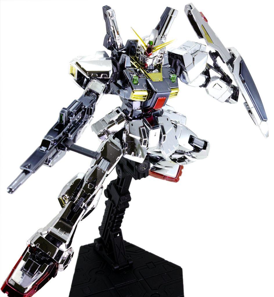 RG ガンダムMk-II エゥーゴ (メッキ) アピールショット3
