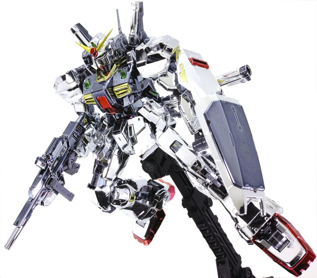RG ガンダムMk-II エゥーゴ (メッキ) アピールショット4
